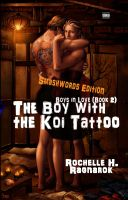 Cover for 'The Boy with the Koi Tattoo (Boys in Love #2)(Yaoi Novel)'