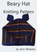 Cover for 'Beary Hat Knitting Pattern'