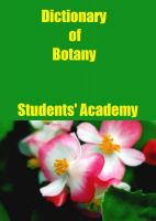 Cover for 'Dictionary of Botany'