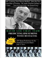 Cover for 'Predicting Jim Simons with CrystalVol'