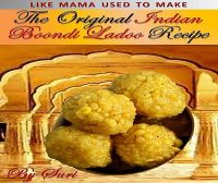 Cover for 'The Original Indian Boondi Ladoo Recipe'