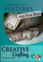 Cover for 'Creative Crafting Summer 2011 - Features & Best Bits'