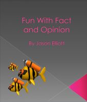 Cover for 'Fun With Fact and Opinion'