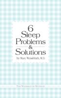 Cover for 'Six Sleep Problems and Solutions'