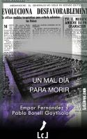 Cover for 'Un mal día para morir'