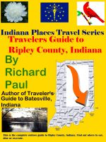 Cover for 'Travelers Guide to Ripley County, Indiana'