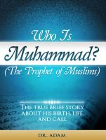 Cover for 'Who is Muhammad?'