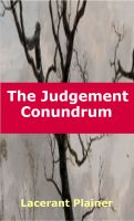Cover for 'The Judgement Conundrum'