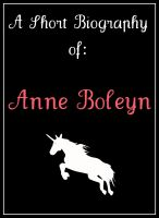 Cover for 'Anne Boleyn: A Short Biography'