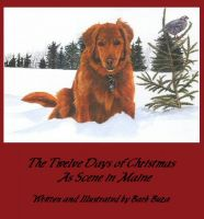 Cover for 'The Twelve Days of Christmas as Scene in Maine'
