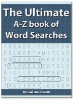 Cover for 'The Ultimate A-Z Book of Word Searches'