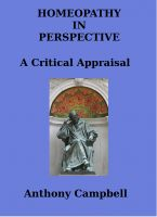 Cover for 'Homeopathy In Perspective: A Critical Appraisal'