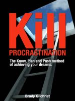 Cover for 'Kill Procrastination'