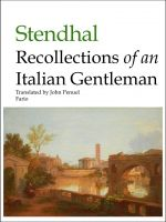 Cover for 'Recollections of an Italian Gentleman'