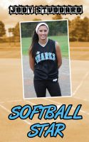 Cover for 'Softball Star'
