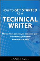 Cover for 'How to Get Started as a Technical Writer'