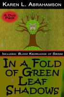 Cover for 'In a Fold of Green Leaf Shadows'