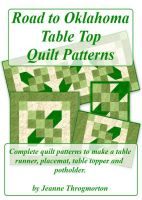 Cover for 'Road to Oklahoma Table Top Quilt Patterns'