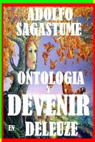 Cover for 'Ontologia y Devenir en Deleuze'