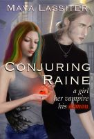 Cover for 'Conjuring Raine'