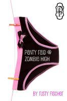 Cover for 'Panty Raid at Zombie High'