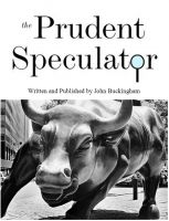 Cover for 'The Prudent Speculator:  August 2012'