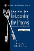 Cover for 'Keys to Understanding the Process: Understanding God's Preparation'