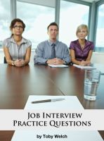 Cover for 'Job Interview Practice Questions'