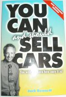 Cover for 'You Can and Should Sell Cars'