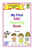 Cover for 'My First ABC Colouring Book'
