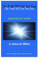 Cover for 'Qualities of Truth'