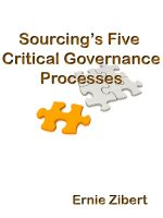 Cover for 'Sourcing's Five Critical Governance Processes'