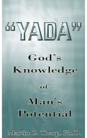 Cover for 'Yada: God's Knowledge of Man's Potential'