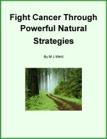 Cover for 'Fight Cancer through Powerful Natural Strategies'