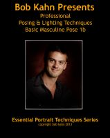 Cover for 'Posing & Lighting Basic Masculine Pose 1b'