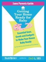 Cover for 'Sane Parents Guide: Getting Your Home Ready for Baby'