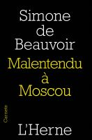 Cover for 'Malentendu à Moscou'