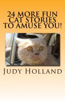 Cover for '24 More Fun Cat Stories To Amuse You!'