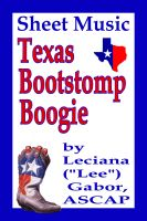 Cover for 'Sheet Music Texas Bootstomp Boogie'