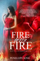Cover for 'Fire with Fire (Demonblood Series #2)'