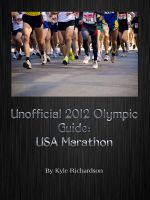 Cover for 'Unofficial 2012 Olympic Guides: USA Marathon and Race Walk'