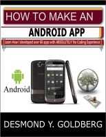 Cover for 'How To Make An Android App'