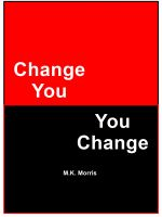Cover for 'Change You - You Change'