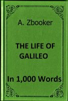 Cover for 'Brecht - Life of Galileo in 1,000 Words'