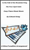 SilverTonalities Sheet Music Services - In the Hall of the Mountain King Easy Piano Sheet Music