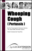 Cover for 'Whooping Cough ( Pertussis )'