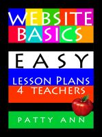 Cover for 'Website Basics: Easy Lesson Plans 4 Teachers'