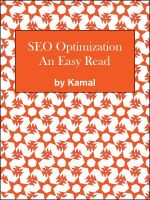 Cover for 'SEO Optimization - An easy read'