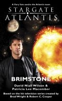 Cover for 'STARGATE SGA-15 - Brimstone'
