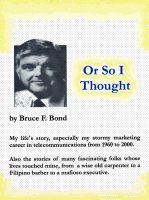 Cover for 'Or So I Thought'